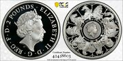 2021 Great Britain 1oz Silver Proof Pcgs Pr70 Queen's Beasts Completer Coin,fs