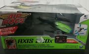 New In Box Air Hogs Axis 300x High Performance 3 Channel Rc Helicopter • Green