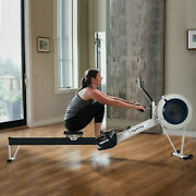 Wind Resistance Rowing Machine Ultra Quiet Rower Adjustable Resistance Level Usa
