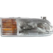 Headlight For 95 96 97 Ford Windstar Right Clear Lens With Bulb