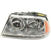Headlight For 2003 2004 2005 Lincoln Aviator Left Hid With Bulb