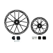 21/23/26/30 Front 18and039and039 Rear Wheel Rim Hub Fit For Harley Road King 08+ Non Abs