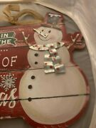 13 X 10 Wooden Christmas Hanging Signandnbsphome Decor/home Decor Accents