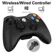 Wireless/wired Game Controller Joystick For Xbox 360 Pc Bluetooth Gamepad Us New