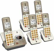 Atandt El52513 5-handset Cordless Phone System With Answering System And Xl Backlit