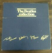 The Beatles Collection 1987 Blue Box Set Of 13 Lpand039s + Bonus Lps Includes Inserts