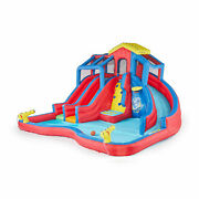 Hydro Blast Inflatable Play Water Park With Slides And Water Cannons New