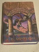 Harry Potter And The Sorcererand039s Stone First Edition First Printing F-vf