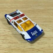 Thing Minicar Tomica No.31 1974 Toyota Ex7 Hyper Blue Police 01