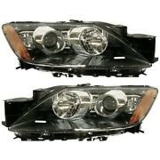 Headlight Set For 2007 2008 2009 Mazda Cx-7 Left And Right Hid 2pc