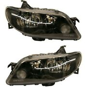Headlight Set For 2002-2003 Mazda Protege5 Left And Right 2pc