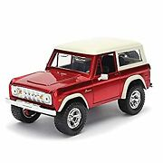 Secondhand Imported Goods Jada Toys Minicar 1/24 Size 1973 Ford Bronco Hardtop