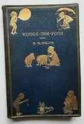 1934 Winnie The Pooh Publishers Full Leather Binding A A Milne E H Shepard Illus