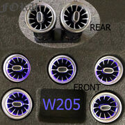Front Rear Led Air Vent For Mercedes Benz C-class W205 Ambient Light Turbo Lamp