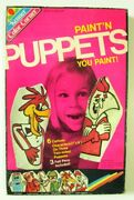 Paintand039n Puppets Sealed General Mills Monster Cereal Franken Berry Boo Chocula