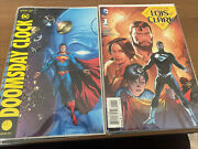 Doomsday Clock 1-6 Vf/nm 2017 Dc Comics And Superman Lois And Clark 1-8 Lot