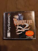Resident Evil 2 Dual Shock Playstation 1 Ps1 Complete Cib With Registration