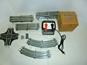 Lionel 1033 90 Watt Transformer With 0/27 Track Lot 14-curve,25-straight And More