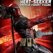 Sideshow 14 Scale Premium Formal Deadpool Hit Chicer Statue