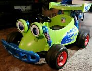 Extremely Rare Toy Story Ride On Rc Car Oop Hard To Find Tested Runs And Drives