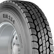 4 Tires Roadmaster By Cooper Rm254 295/75r22.5 Load G 14 Ply Drive Commercial