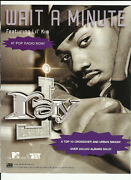 Ray J Wait A Minute Trade Ad Poster For This Ain't A Game Cd 2001 Mint Lil Kim
