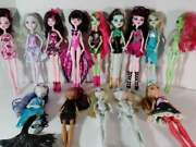14pc Monster High Ever After Doll Figure Lot Set Mermaid