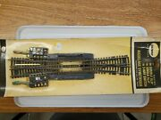 Ho Scale Trains Roco Brass Double Slip Remote Turnout Switch Track