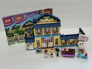 Lego Friends Heartlake High School 41005 W/ Both Manuals And All Minifigures