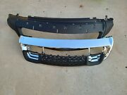 Bumper Cover Kit For 2014-2016 Grand Cherokee Front 4pc With Bumper Grille