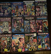 Lot Of 14 Monster High Dvd / Bluray 13 Wishes-haunted=freaky Fusion -boo York