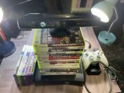 Xbox360 Slim W/kinect And Games