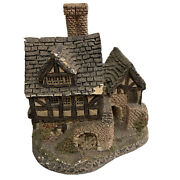 David Winter Cottage The Bakehouse Hand Made And Painted 1983 Great Britain