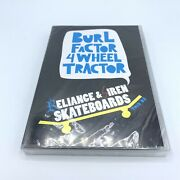 Burl Factor 4 Wheel Tractor - Reliance And Siren Skateboards - Dvd - New And Sealed