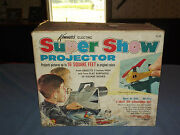 Vintage Toy 1965 Kenner Super Show Projector In Box
