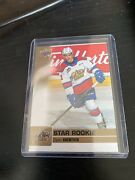Ud Chl Hockey Dylan Guenther Star Rookie Card Gold Foil E-pack Exclusive