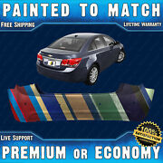 New Painted To Match Rear Bumper For 2013 2014 2015 Chevy Cruze W/ Park Assist