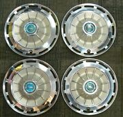 1962 62 Chevrolet Chevy Impala Corvair Chevy Ii Wheel Cover Hubcap Set Of 4