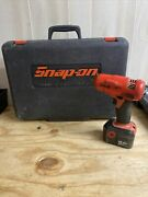 Snap On 14.4 3/8 Impact Driver W/battery - Mod Ctr2512