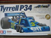 Tamiya 1/12 Tyrrell Tyrell P34 Six Wheeler With Etched Parts Photo-etched