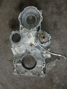 Caterpillar Cat 3408b 3412 Marine Diesel Engine Front Timing Cover And Gear Pump