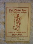 August 1995 The Picket Post Civil War Military Antiques Booklet