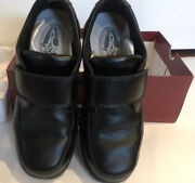 Hush Puppies Gavin Front Strap Dress Shoe Sz 4 W In Very Good Used Condition .