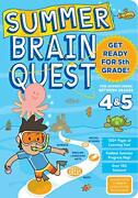 Summer Brain Quest Get Ready For 5th Grade 1 By Piddock, Claire Book The Fast