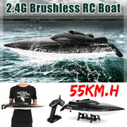 Feilun Ft011 2.4g Brushless Rc Boat 55km/h High Speed Racing Boat Water Cooling
