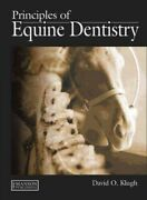 Principles Of Equine Dentistry, Hardcover By Klugh, David O., Brand New, Free...