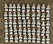 Lego Star Wars Clone Trooper Minifigure Lot 50 Total Excellent Condition Army