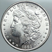 1884 P United States Of America Old Silver Morgan Us Dollar Coin Eagle I89117