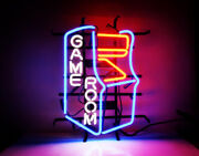 Game Room Neon Sign Light Real Glass Game Room Decor Man Cave Bar Sign 18