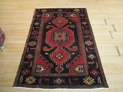 4'3 X 6'4 Persian Abc Collection Handmade-knotted Wool Rug 586220